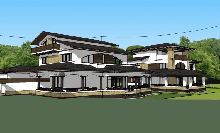 Proiect case rezidentiale P+1E+M