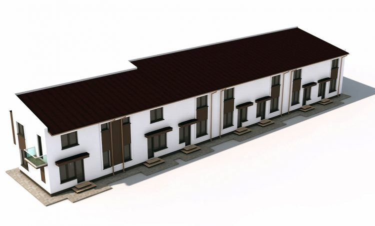 Ansamblu cladiri rezidentiale Ciresar